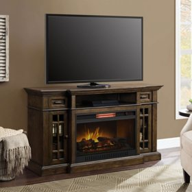 Baylor Fireplace Console