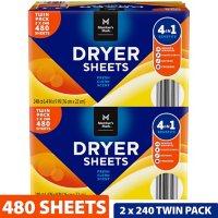 Member's Mark Fabric Softener Dryer Sheets (480 ct.)