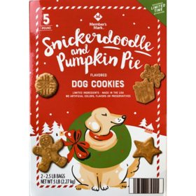 Member's Mark Oven-Baked Holiday Flavor Dog Treats (5 lb.)