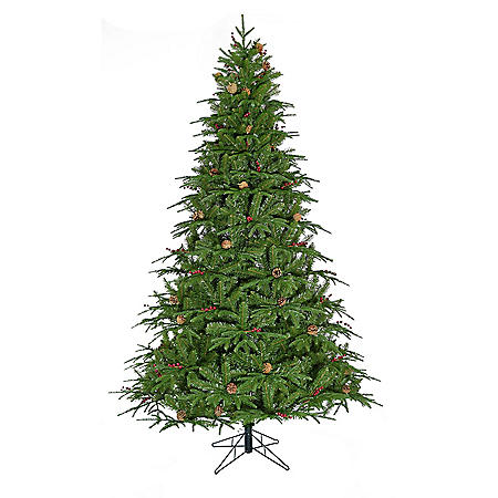 Member's Mark 7.5' Color-Changing Black Hills Spruce Christmas Tree