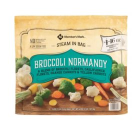 Member's Mark Broccoli Normandy, Frozen (16 oz., 4 ct.)
