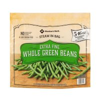 Member's Mark Extra Fine Whole Green Beans, Frozen (16 oz. steam bags, 5 ct.)