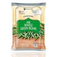 Member's Mark Whole Green Beans, Frozen (16 oz. steam bags, 5 ct.)