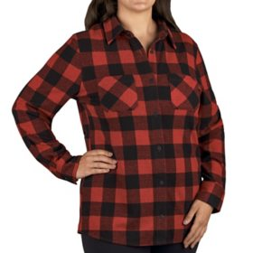 Member's Mark Women's Plaid Top