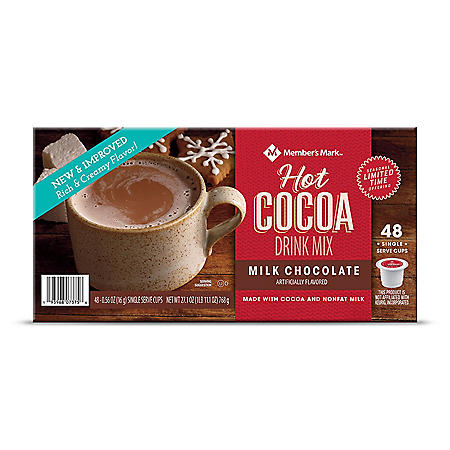 Member's Mark Hot Cocoa Drink Mix, Milk Chocolate (48 ct.)