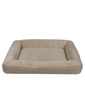 "Member's Mark Bolster Sleeper Pet Bed, 30"" x 40"" (Choose Your Color)."