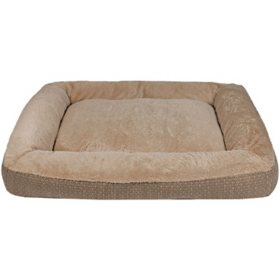 "Member's Mark Bolster Sleeper Pet Bed, 35"" x 44"" (Choose Your Color)"