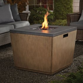 "Member's Mark 30"" LP Steel Fire Pit with Textured Top"