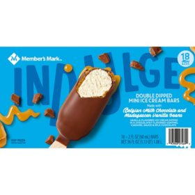 Member's Mark Double Dipped Mini Ice Cream Bars (18 ct.)