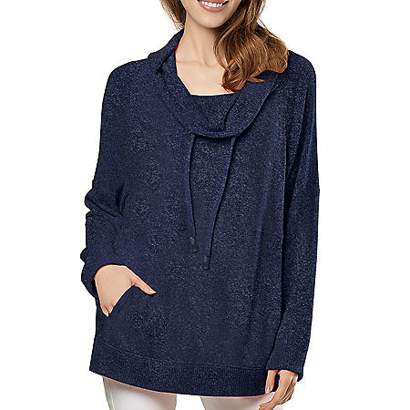 Member's Mark Women's Soft Cowl Neck Top