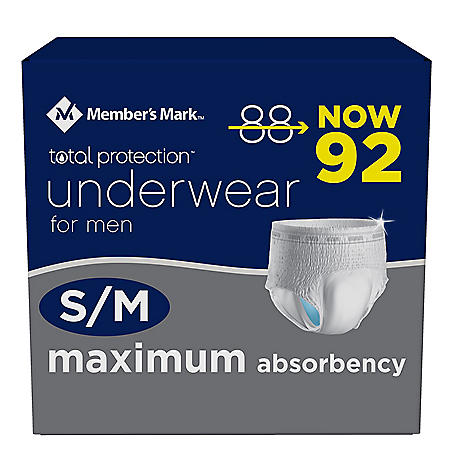 Member's Mark Total Protection Underwear for Men