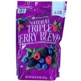 Member's Mark Triple Berry Blend, Frozen (64 oz.)