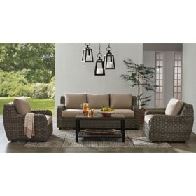 Member's Mark Athena 4-Piece Deep Seating Set