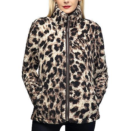 Member's Mark Ladies Full Zip Sherpa Jacket