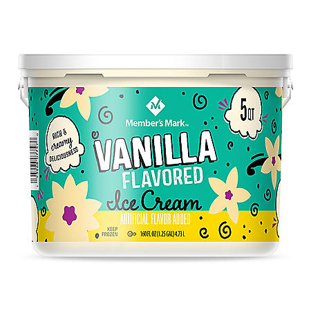 Member's Mark Vanilla Ice Cream Pail (5 qts.)