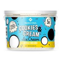 Member's Mark Cookies and Cream Ice Cream Pail (5 qt.)