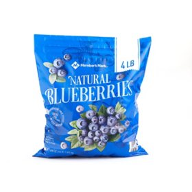 Member's Mark Natural Blueberries, Frozen (64 oz.)