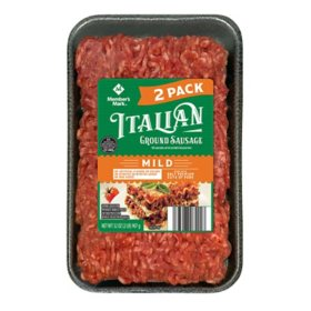 Member's Mark Mild Italian Ground Sausage (2 lbs.)