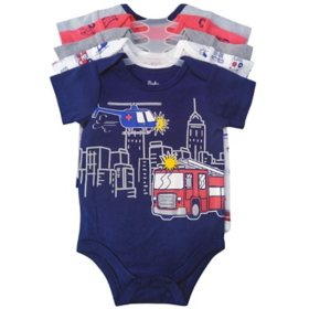 Member's Mark Boys' 5pk Bodysuit