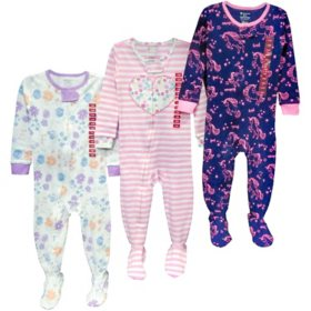 Member's Mark Girl's 3pc Pajama Set
