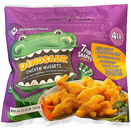 Member's Mark Dino Buddies Chicken Breast Nuggets (4 lbs.)