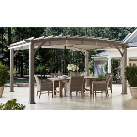 Member's Mark 12' x 16' Pergola (Brown)