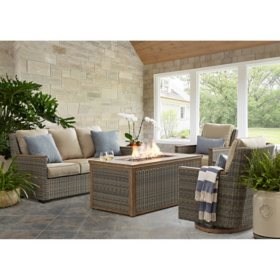 Member's Mark Bungalow 4-Piece Fire Chat Set