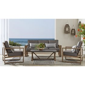 Member's Mark Cahaba 4-Piece Deep Seating Set