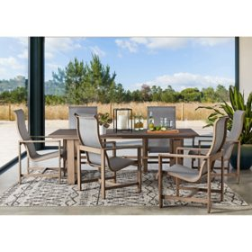 Member's Mark Agio Avondale 7-Piece Sling Dining Set