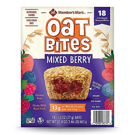 Member's Mark Mixed Berry Oat Bites (18 pk.)