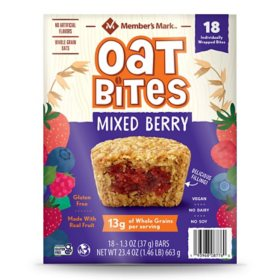 Member's Mark Mixed Berry Oat Bites (18 pk.)