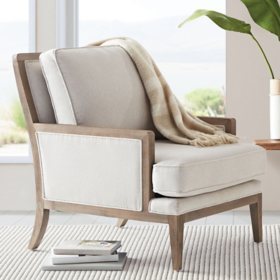 Member's Mark Savannah Accent Chair, Cream Upholstery