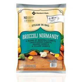 Member's Mark Broccoli Normandy Blend, Frozen (16 oz. pouch, 4 ct.)