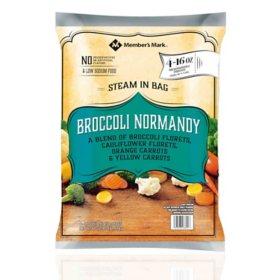 Member's Mark Broccoli Normandy Blend, Frozen (16 oz. pouch, 4 ct.)