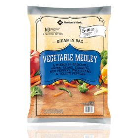 Member's Mark Vegetable Medley, Frozen (16 oz. pouch, 5 ct.)
