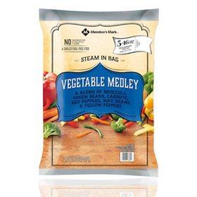 Member's Mark Vegetable Medley, Frozen (16 oz. pouch, 5 ct.)