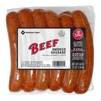 Member's Mark Smoked Beef Sausage (12 ct.)