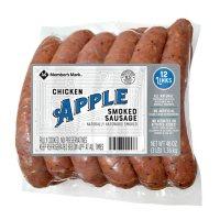 Member's Mark Chicken Apple Smoked Sausage Links (12 ct.)