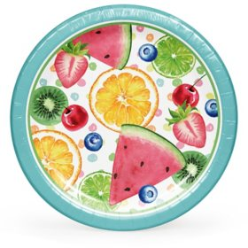 "Member's Mark Summer Fun Treats Paper Plates, 10"" (90 ct.)"