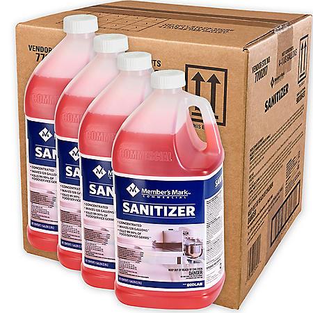 Member's Mark Commercial Sanitizer, 1 gal. (Choose Pack Size)