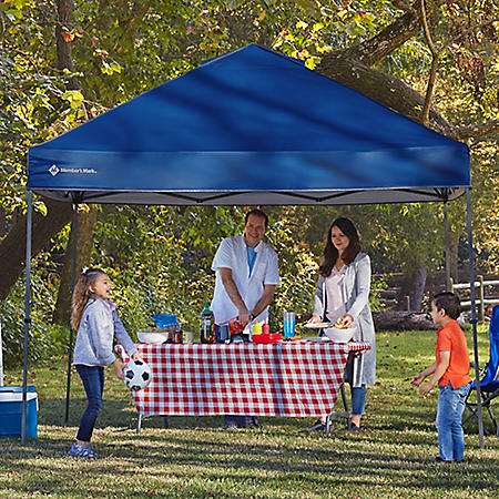 Member's Mark 10' x 10' Instant Canopy with Patented EasyLiftTMTechnology
