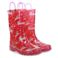 Deals on Members Mark Kids Light Up Rain Boots