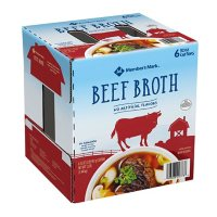 Member's Mark Conventional Beef Broth (32 oz., 6 pk.)