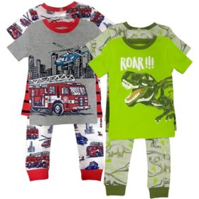 Member's Mark Boy's 8pc Pajama Set