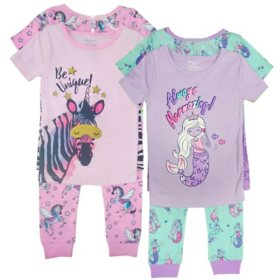 Member's Mark Girl's 8pc Pajama Set