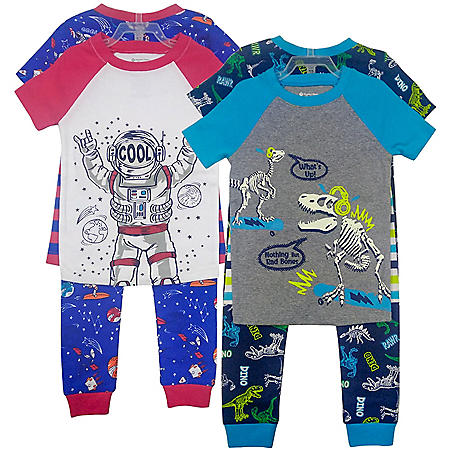 Member's Mark Boy's 8pc Pajama Set