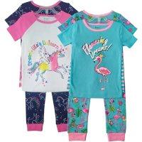 Member's Mark Girl's 8pc Pajama Set