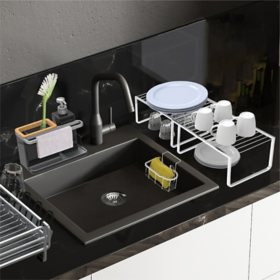 Member's Mark 5-Piece Aluminum Sink Accessories Set