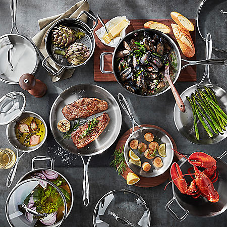 Member's Mark 14-Piece Tri-Ply Cookware Set