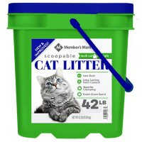 Members Mark Scented Scoopable Cat Litter (42 lb.)